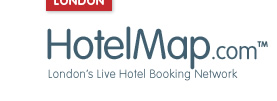Hotels Goodge Street Tube Station - HotelMap.com Logo
